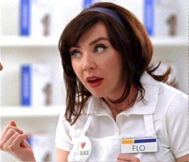 flo progressive insurance girl