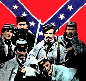 Confederale Soldiers