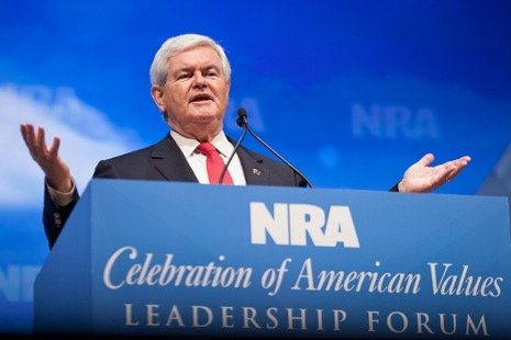 Presidential Candidates Address NRA Annual Meeting In St. Louis