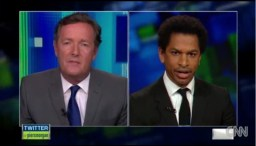 Piers Morgan vs. pretentious MSNBC contributor