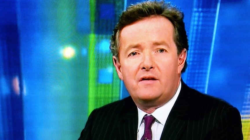 What does Piers Morgan have to do to get fired?
