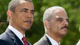 Why does Eric Holder still have a job?