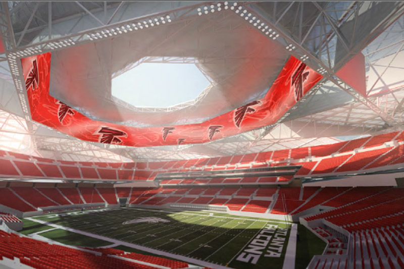 The most overlooked detail about the new Falconsstadium