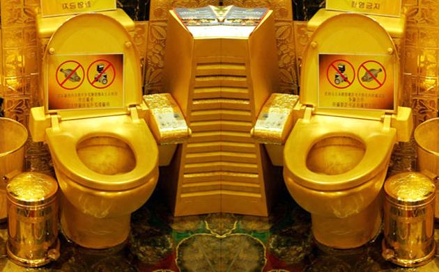 Golden-Toilets