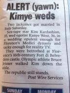 All you need to know about that wedding