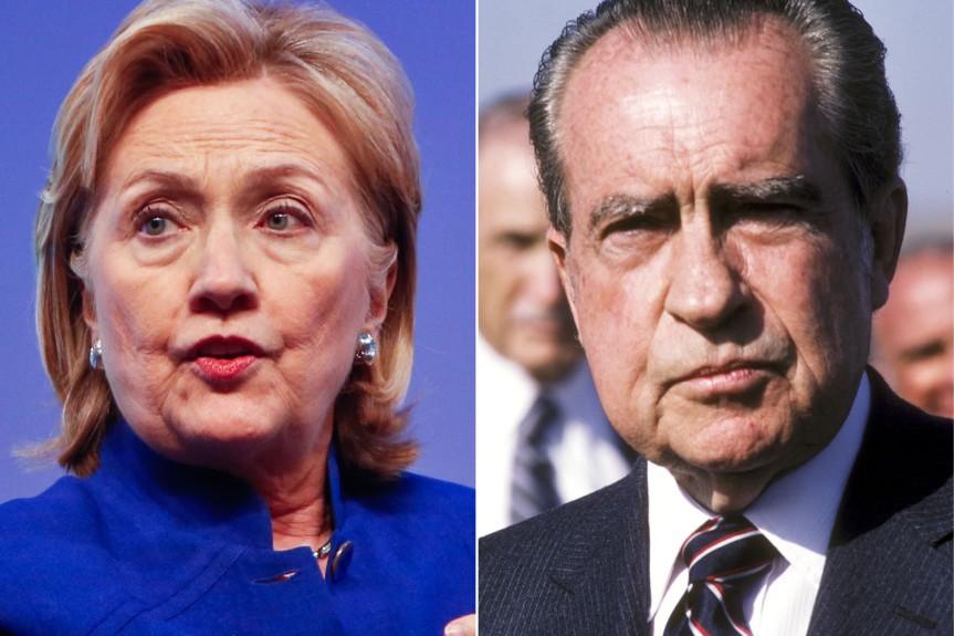 Nixon in apantsuit